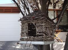 Bird House from Sticks