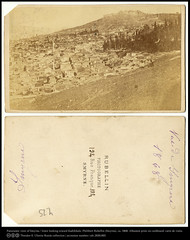 Panoramic view of Smyrna looking toward Kadifekale