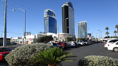 Nevada - Las Vegas: PALMS Casino in 3 tower buildings located 0.8 miles / 1.3 km from the Las Vegas Strip on Flamingo Road