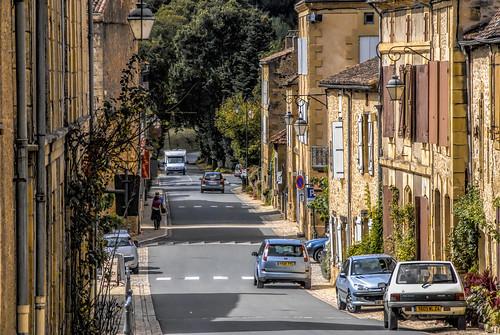 Cadouin - France - street scene