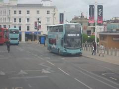 YX69 NWT (Route 5B) at Churchill Square, Brighton