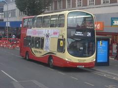 BK13 NZV (Route 24) at London Road, Brighton