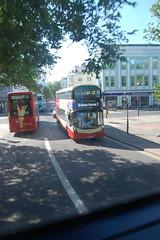 SK67 FJO (Route 7) at Old Steine, Brighton
