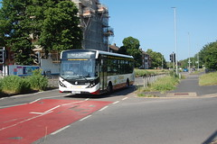 YK68 UJW (Route ) at Lewes Road, Brighton