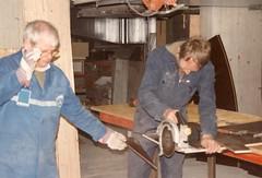 1992 Unsere Modulanlage entsteht