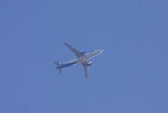 Ural Airlines Airbus Industrie A320-214 VQ-BDJ DME-STN U6745 SVR745 FL80