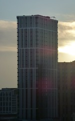 The Bank Tower 2 at sunset