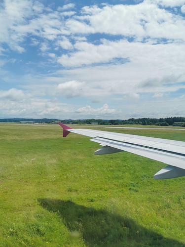 Take-off from Memmingen Airport