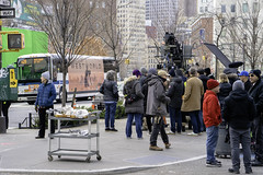 Film Set in Duarte Square