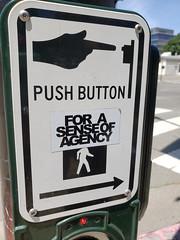 Sense of agency