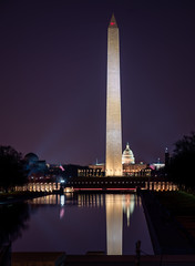 Looking Across the National Mall