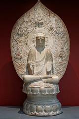 Le Bouddha Amitabha de la Terre pure (Musée Cernuschi, Paris)