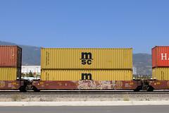 Benching Freight Train Graffiti - June 27th 2020