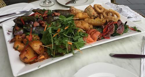 Seafood platter The Esplanade