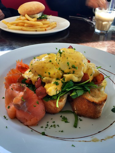 Salmon Benedict Browns Bay
