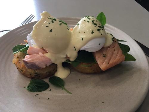 Salmon Eggs Benedict Auckland