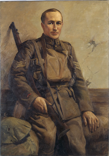 Photo:Sergeant R.C. Travis VC, DCM, MM By Archives New Zealand