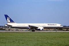G-BYAH Boeing 757 Britannia LTN 04-09-99