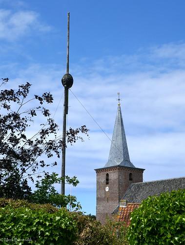Terschelling: Hoorn, sjouw and church