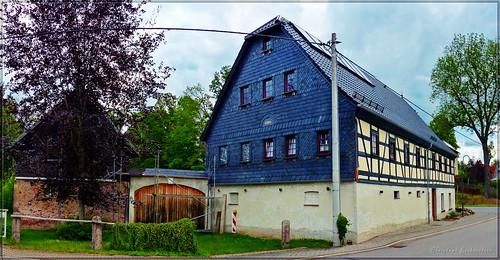 Fachwerkgehöft in Hermsdorf bei Hohenstein-Ernstthal