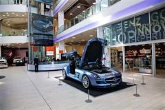 Mercedes Benz World at Brooklands - May 2013
