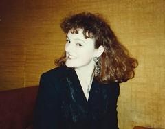 Jane, Birthday Meal at the Pizzarama, Leith Walk, Nov 1990