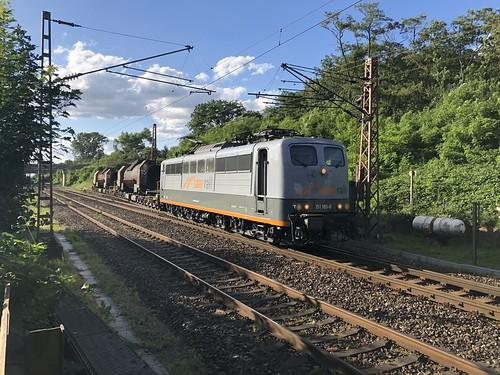 SaarRail 151 165-8 Abzw Dillingen Süd