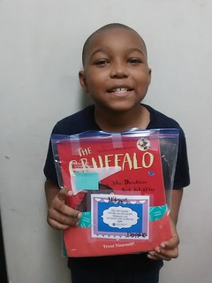 Gabriel Receives Book