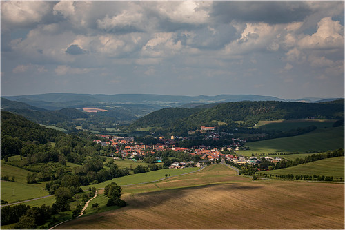 Hiking around Faulungen. Thuringia