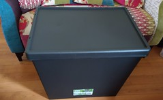 A duvet box for the spare duvet - PlasticBoxShop