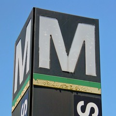 Shaw-Howard University station entrance pylon