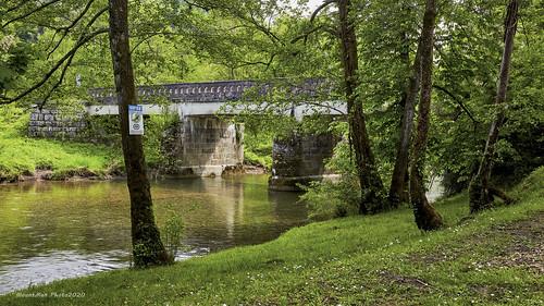 Most preko Kupice nedaleko od utoka Kupice u Kupu