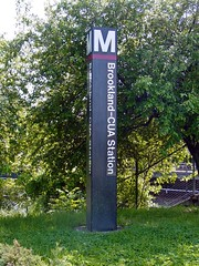 Brookland-CUA station entrance pylon