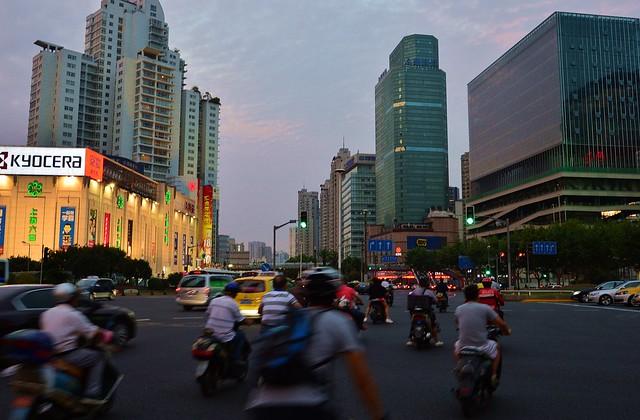 Shanghai - Xujiahui Traffic