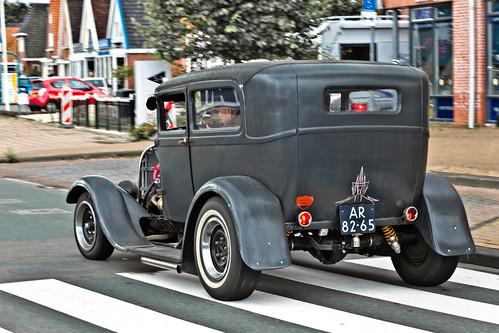 Ford Model A Tudor Sedan Hot Rod 1928 (9793)