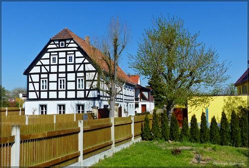 Fachwerkhaus in Gröbern