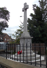 Birchington All Saints Church 16 - War memorial