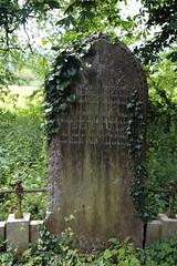 All Saints Church, Nazeing, Essex, England ~ churchyard Richardson stone 02