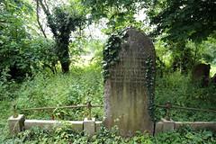 All Saints Church, Nazeing, Essex, England ~ churchyard Richardson stone 01