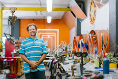 Zen Glass Studio, David Walker