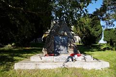 Arkesden Church of St Mary churchyard WWI memorial, Essex, England