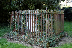 Arkesden Church of St Mary churchyard chest tomb, Essex, England