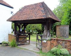 All Saints Church, Nazeing, Essex, England ~ lychgate 02