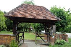 All Saints Church, Nazeing, Essex, England ~ lychgate 01