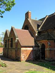 All Hallows Church Tottenham London England - north transept