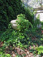 All Hallows Church Tottenham London England - churchyard urn monument 2