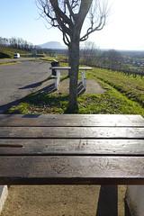 Picnic table @ Viewpoint @ Ballaison