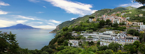Vico is a town overlooking the Bay of Naples