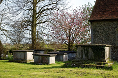 All Saints Church Masham tombs at High Laver Essex England 2