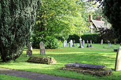 Church of St Andrew, Nuthurst, West Sussex - churchyard 01